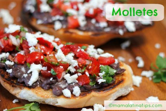 Molletes Mexicanos - Mamalatinatips.com