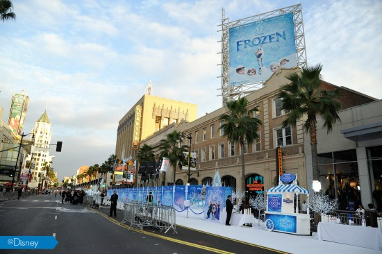 Frozen World Premier
