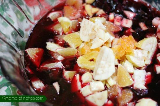 ensalada de nochebuena fruit
