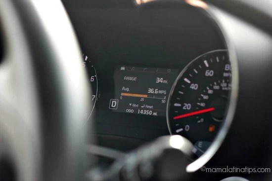 Kia Forte Dashboard