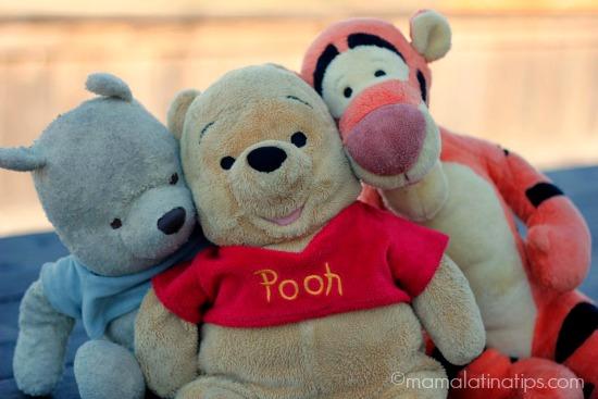 Winnie the Pooh and Tigger - mamalatinatips.com