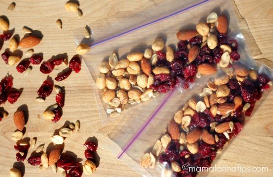 nuts and cranberries - mamalatinatips.com