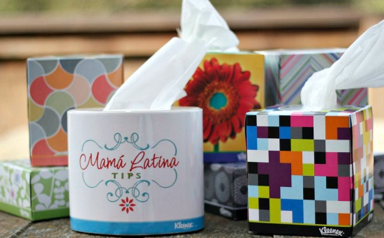 Kleenex design boxes