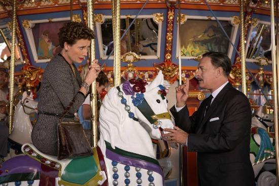 PL Travers and Walt Disney in Saving Mr. Banks