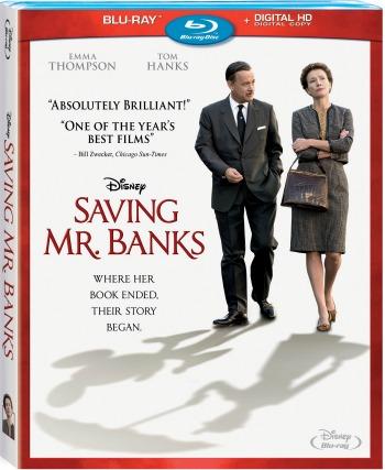 Saving Mr. Banks Blu-ray