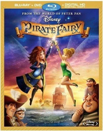 The Pirate Fairy Blu-ray - mamalatinatips.com