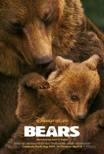 Disney Nature Bears Poster - mamalatinatips.com