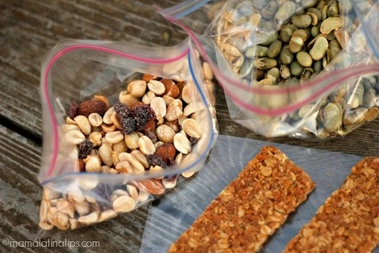 Granola and nuts