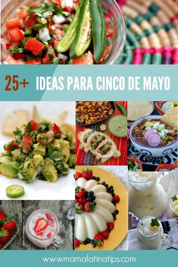 25+ ideas para celebrar cinco de mayo