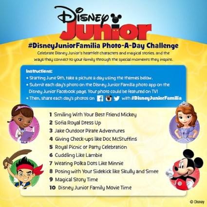 Foto a Day with Disney Junior Familia