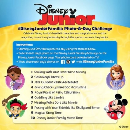 Foto a Day with Disney Junior Familia