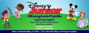 Come to the #DisneyJuniorFamilia Twitter Party