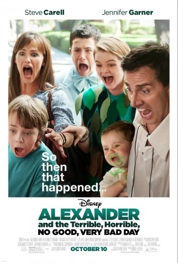 Alexander and the Terrible, Horrible, No Good, Very Bad Day, poster