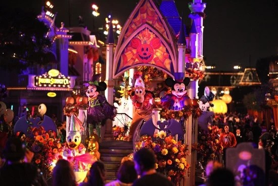 Mickey's Halloween Party Parade at Disneyland