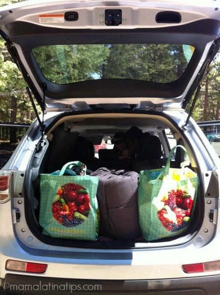 Mitsubishi Outlander trunk
