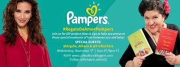 Join Us for the #RegaloDeAmorPampers Bilingual Twitter Party