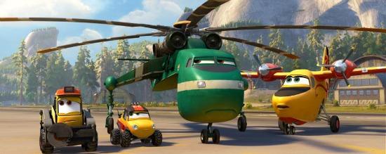Contenido Especial en el Blu-ray de Planes #FireAndRescue y Sorteo