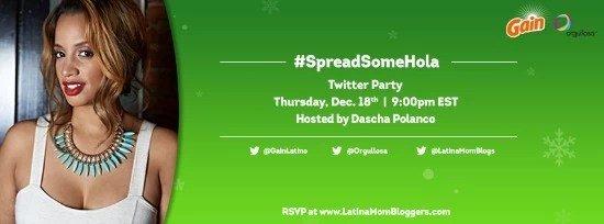 #spreadsomehola Twitter party