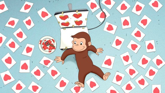 Curious George - Happy Valentine's George!