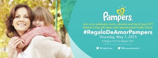 Regalo de amor Pampers Twitter Party