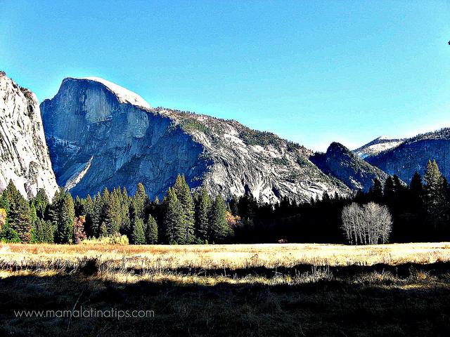 Yosemite Half Dome - mamalatinatips.com
