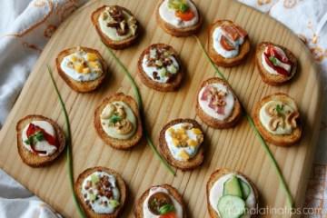 Festive Crostini Antipasti