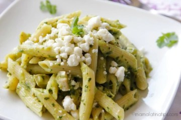 Penne Pasta with Salsa Verde
