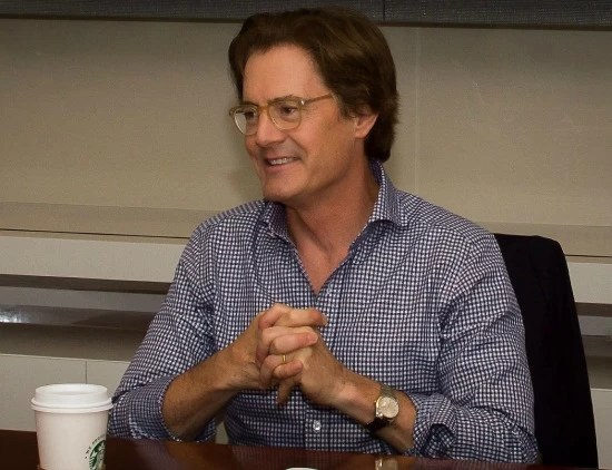 An interview with Kyle MacLachlan in Los Angeles 2015 - mamalatinatips.com