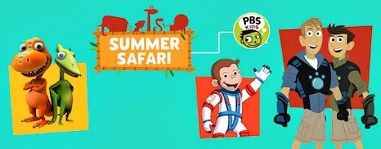 PBS Summer Safari 2015 - mamalatinatips.com