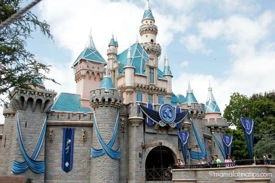 Sleeping Beauty Castle - #disneyland60 - mamalatinatips.com