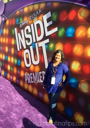 Celebrities at Disney-Pixar Inside Out Purple Carpet World Premiere