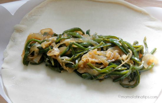 Rajas con salsa de soya