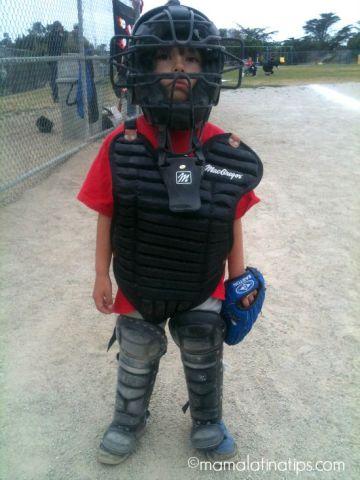 First Time Playing Baseball