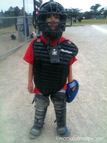 First Time Playing Baseball