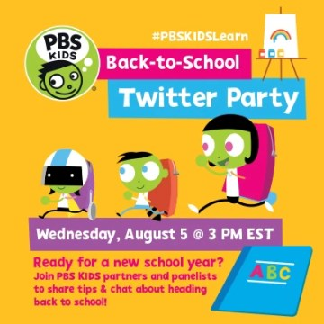 Back to School Twitter Party with @PBSKids @MamaLatina & @CoralieSeright #PBSKIDSLearn