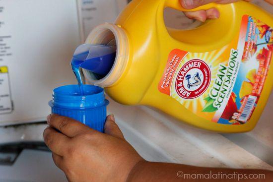 A&H Cleanscentations pouring liquid