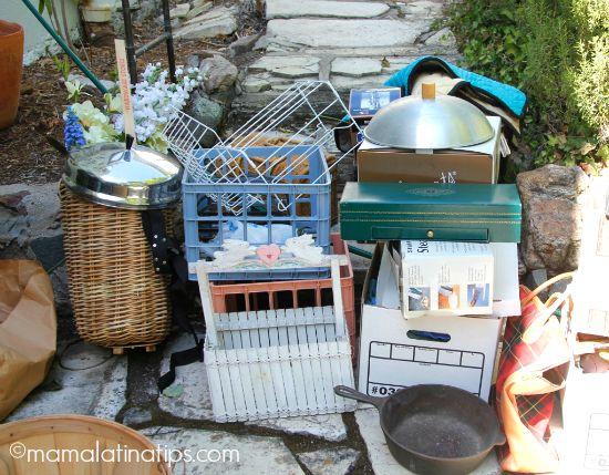 A&H basement project donation pile mlt