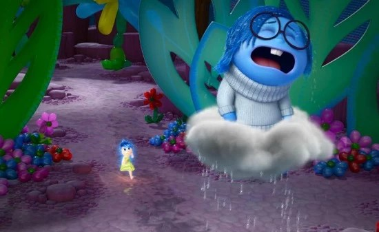 Sadness crying - Inside Out - mamalatinatips.com