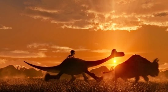 The Good Dinosaur Scene - mamalatinatips.com
