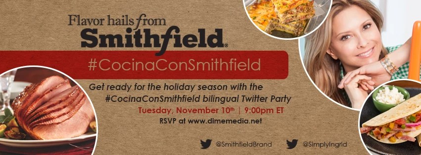 #CocinaConSmithfield bilingual twitter party
