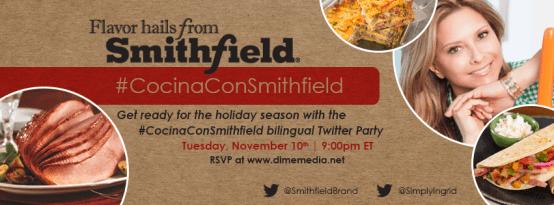 #CocinaConSmithfield bilingual twitter party
