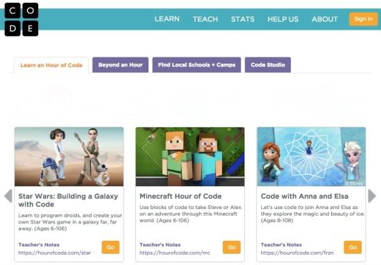 Hour of code - mamalatinatips.com