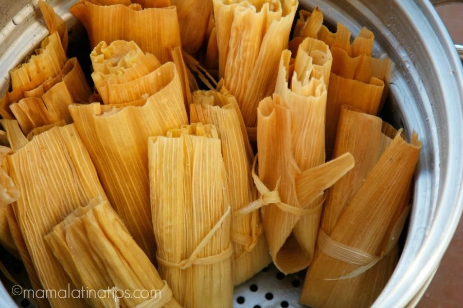 Tamales in pot by mamalatinatips.com