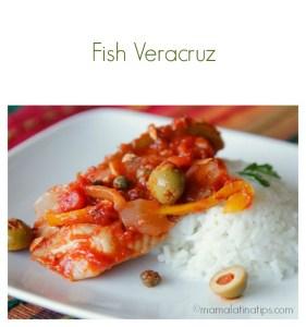 Fish Veracruz Recipe - mamalatinatips.com
