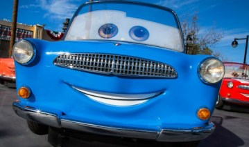 New Disney Attraction Luigi's Rollickin' Roadsters at Cars Land