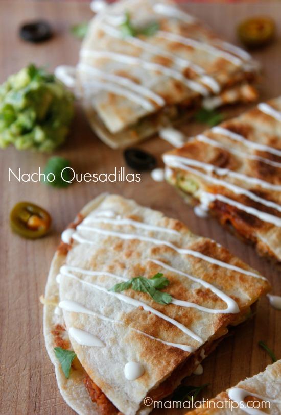 Nacho Quesadillas