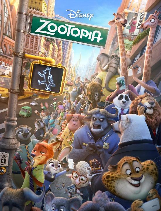 Zootopia Poster - mamalatinatips.com