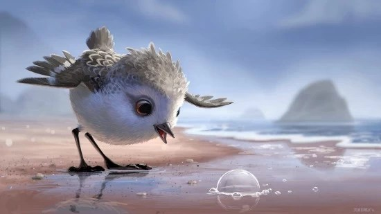 Piper es el nuevo cortometraje de Disney Pixar - mamalatinatips.com