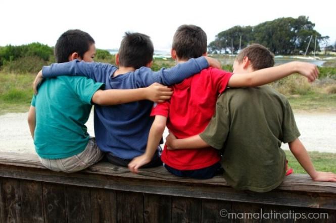 Kids on fence - mamalatinatips.com