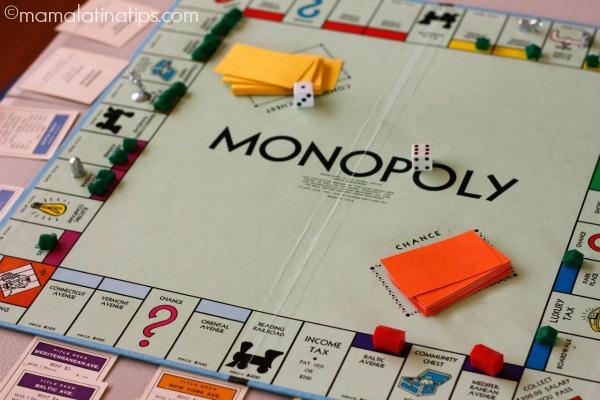 Juego de Monopolio - mamalatinatips.com